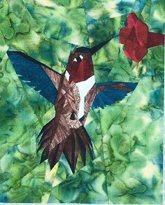Wee Hummingbird Quilt Pattern By Silver Linings