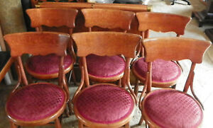 Set-of-6-Quartersawn-Oak-Dinette-Chairs-Sidechairs-DC11