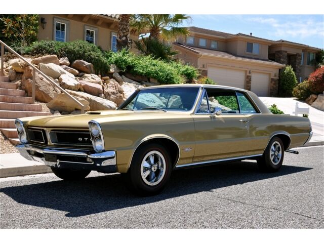 65 PONTIAC GTO TRI-POWER 4-SPD - Tiger Gold Museum Pc.