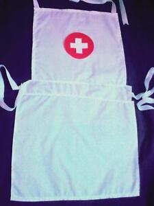 WHITE-COTTON-CHILDS-NURSE-APRON-FOR-FANCYDRESS
