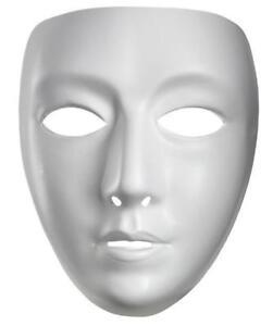 Blank-Female-Mardi-Gras-Venetian-Plastic-Face-Mask-Halloween-Costume-Accessory