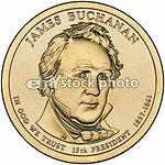 Dollar, 2010, James Buchanan, Presidents