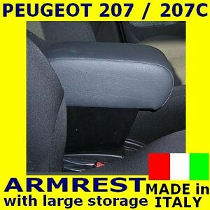 armrest for peugeot 207 accoudoir pour mittelarmlehne ebay. Black Bedroom Furniture Sets. Home Design Ideas