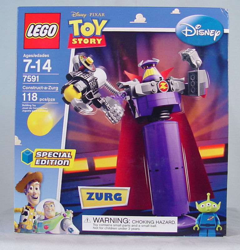 Toy Story Lego 7591 Construct-a- Zurg Special Edition Sealed A