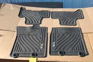 2007 2015 toyota fj cruiser factory all weather floor mats. Black Bedroom Furniture Sets. Home Design Ideas
