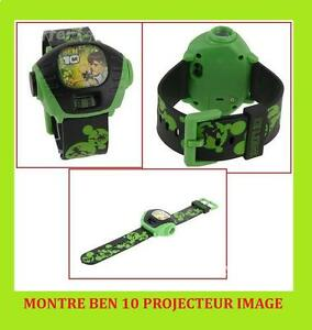 montre projecteur ben10 ben 10 garcon enfant image jeu jouet garcon omnitrix ebay. Black Bedroom Furniture Sets. Home Design Ideas