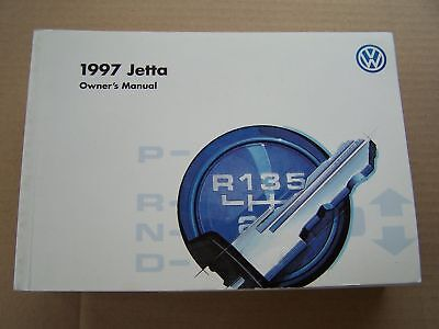 1997 Vw Jetta Owners Manual Parts Service