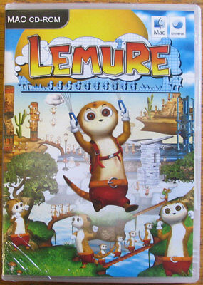 Lemure, for Mac PPC or Intel OS X 10.4.11 arcade game NEW & Sealed