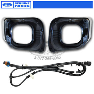 OEM-2012-Ford-F-250-F-350-XLT-Complete-Fog-Light-Kit-Adds-Auto-Headlamps