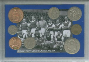 Ipswich-Town-FC-League-Champions-Vintage-Sir-Alf-Ramsey-Retro-Coin-Gift-Set-1962