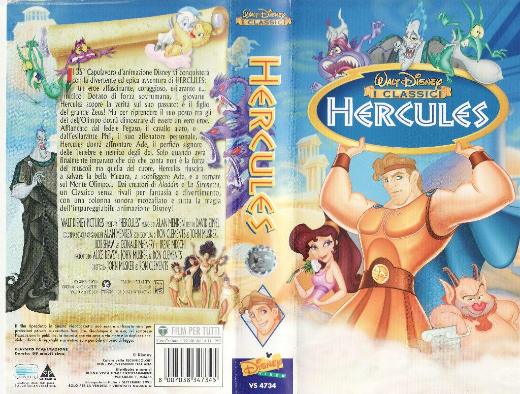 Hercules (1997) VHS