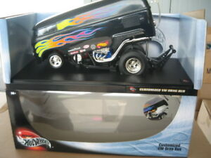 HOTWHEELS-1-18-SCALE-CUSTOMIZED-VW-DRAG-BUS-KOMBI-AWESOME-LOOKING-MODEL