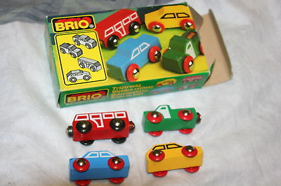 Brio Vintage 4pc Train Set, For All Wooden Track