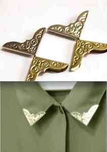 Vintage-Style-Triangle-Collar-Tips-Sivler
