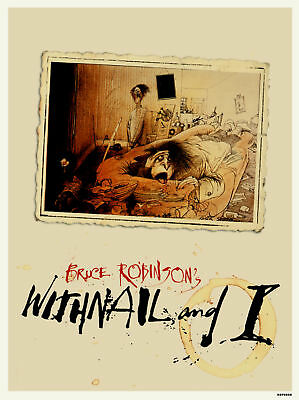 Withnail and I Movie Film Poster Art Print (MSP 008)