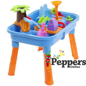 NEW-Kids-SAND-and-WATER-Outdoor-Play-Table-Equipment