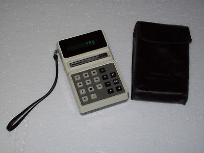 Panasonic 833 JE-883U Electronic Calculator w/case