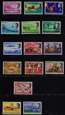 SOLOMON ISLANDS SCOTT# 180-194 (15) MNH  TOURISM ISSUE
