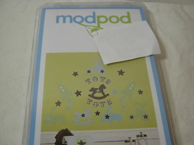 Kids Line Modpod Mod Pod Pop Toys Wall Decals Nip