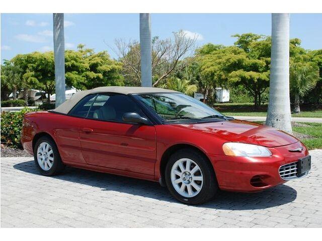 2002 Chrysler Sebring CONVERTIBLE GTC 5-Speed Vinyl