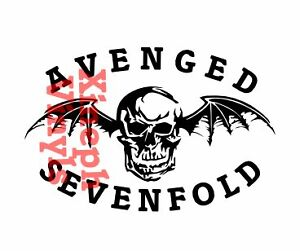 Avenged-Sevenfold-Death-Bat-vinyl-sticker-decal-cd-skin-car-window-mac-ax7