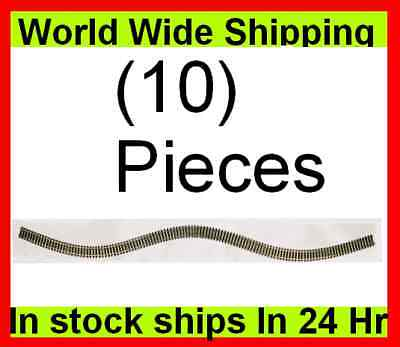 "Atlas Code 100 Super-Flex Nickel Silver 36"" Train Track HO (10) on Rummage"