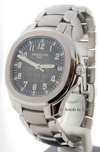 Patek-Philippe-Mens-5167A-Jumbo-Aquanaut-Bracelet-NEW