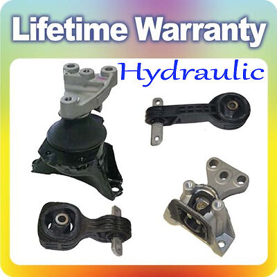 Civic 1 8 trans engine motor torque rod mount full set for Honda civic motor mount replacement cost