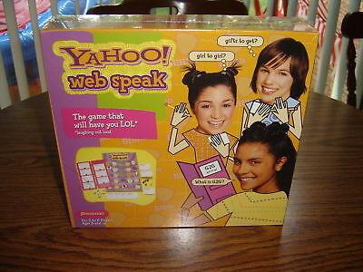 Yahoo Web Speak Game – Brand