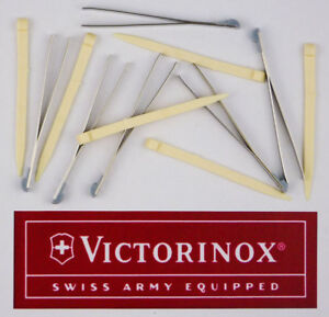 VICTORINOX SWISS ARMY TWEEZERS - TOOTHPICKS VNPARTS012S