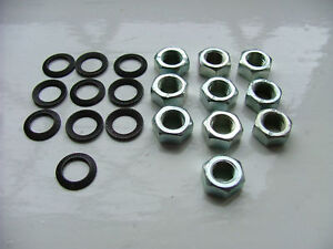 LAMBRETTA-VESPA-M7-7MM-7-MM-HEX-NUTS-NUT-LOCK-WASHERS