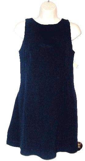 Moschino Cheap & Chic Navy Blue Long Tunic Top High Neck 42 6 8 $279 Italy