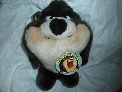 24 K 24k 1992 Tasmanian Tazmanian Devil Plush Mighty Wa