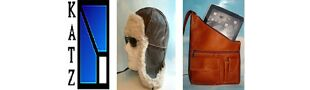 KATZ LEATHER BAGS SHEEPSKIN HATS