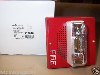 Wheelock Et70-241575w-fr Red Speaker Strobe