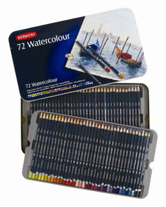 Derwent Watercolour Pencils - Set of 72 in Tin (NEW!)