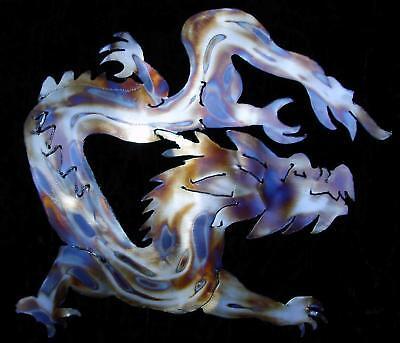 Oriental Dragon Mythology Metal Wall Accent Art Decor
