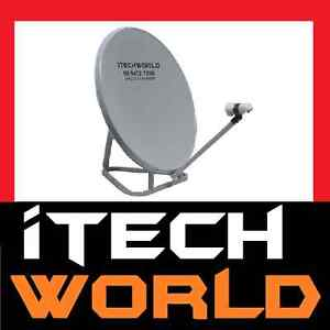 itechworld 85cm Satellite Dish Kit for VAST Portable Caravan easybase