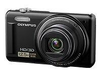 Olympus-VR-330-Schwarz-Tasche-8-GB-SD-Karte-MEGAZOOM