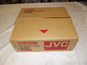 JVC A-E5 Stereo Integrated Amplifier AMP Made In Japan NEW In BOX