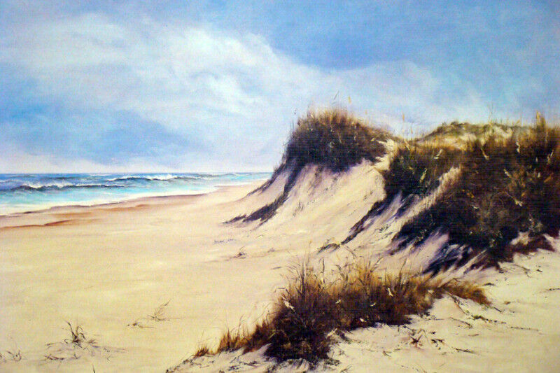 Tranquility by Vivian Morales-Seascape-Outer Banks, NC