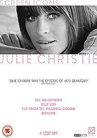 Julie-Christie-Screen-Icons-DVD-2005-4-Disc-Set-Box-Set