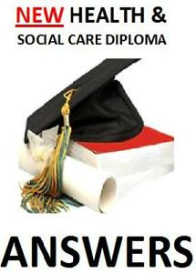 Diploma Health and Social Care NVQ QCF 9