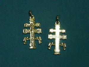 CROCE-di-CARAVACA-Cruz-de-Caravaca-in-argento-925-Sterling-silver