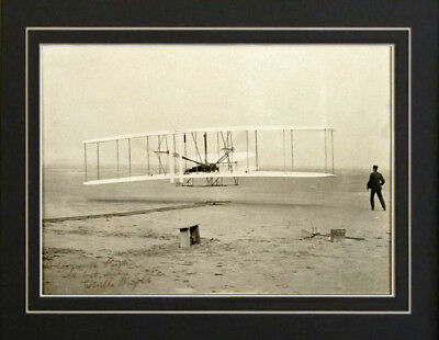 Orville Wright Brothers Kitty Hawk SIGNED photo Print