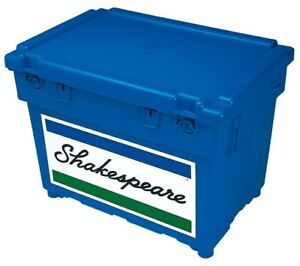 Shakespeare Team Fishing Seat Box Blue & Strap