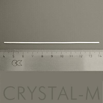 10 cm Vierkant- Silberdraht (925er Sterlingsilber) 1 mm