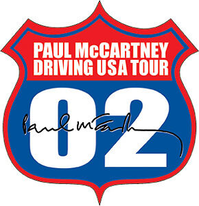 New-PAUL-McCARTNEY-Highway-STICKER-Driving-USA-Tour