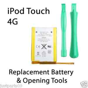 iPod Touch Replacement Battery 4th Gen with Tools