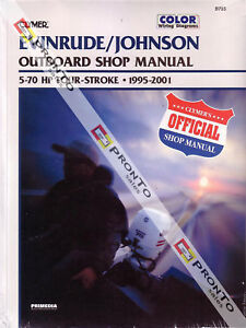 CLYMER-REPAIR-MANUAL-EVINRUDE-JOHNSON-OUTBOARD-4-STROKE